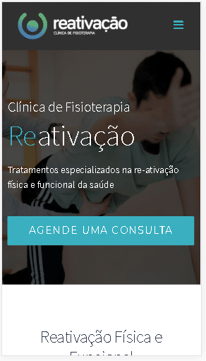 Marketing para site de fisioterapia