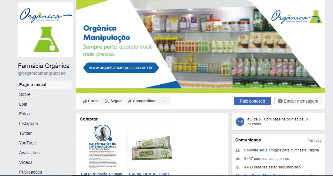 publicidade face marketing farmácia