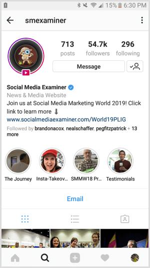 agendar posts no Instagram