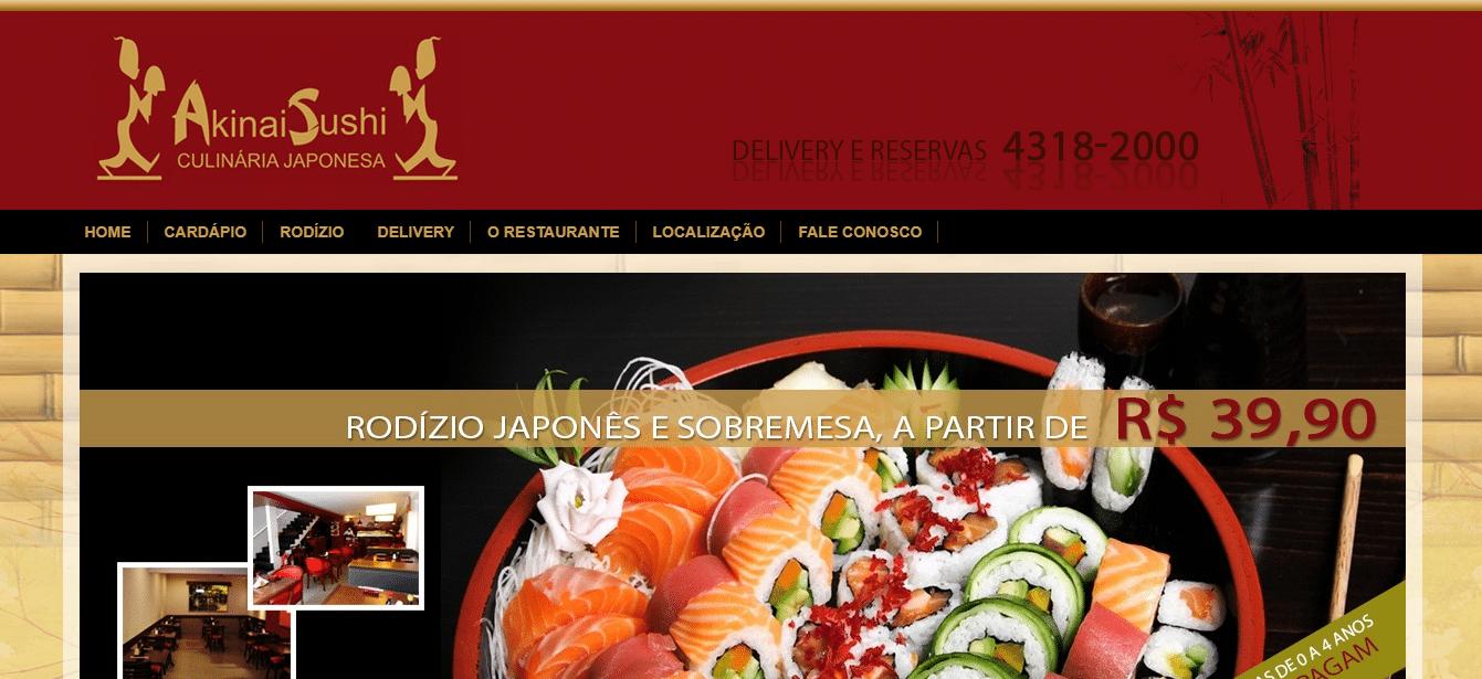 estratégia de marketing para Restaurante Japonês