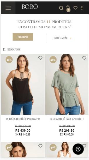 marketing marca de roupa