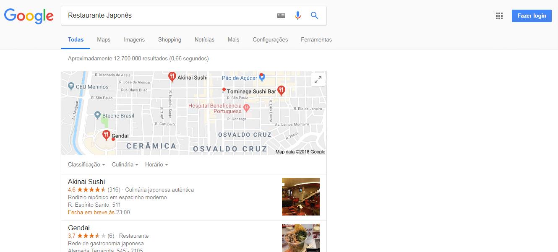 propaganda Para Restaurante Japonês
