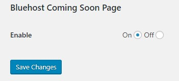 1585375806 9774 Bluehost Coming Soon Feature