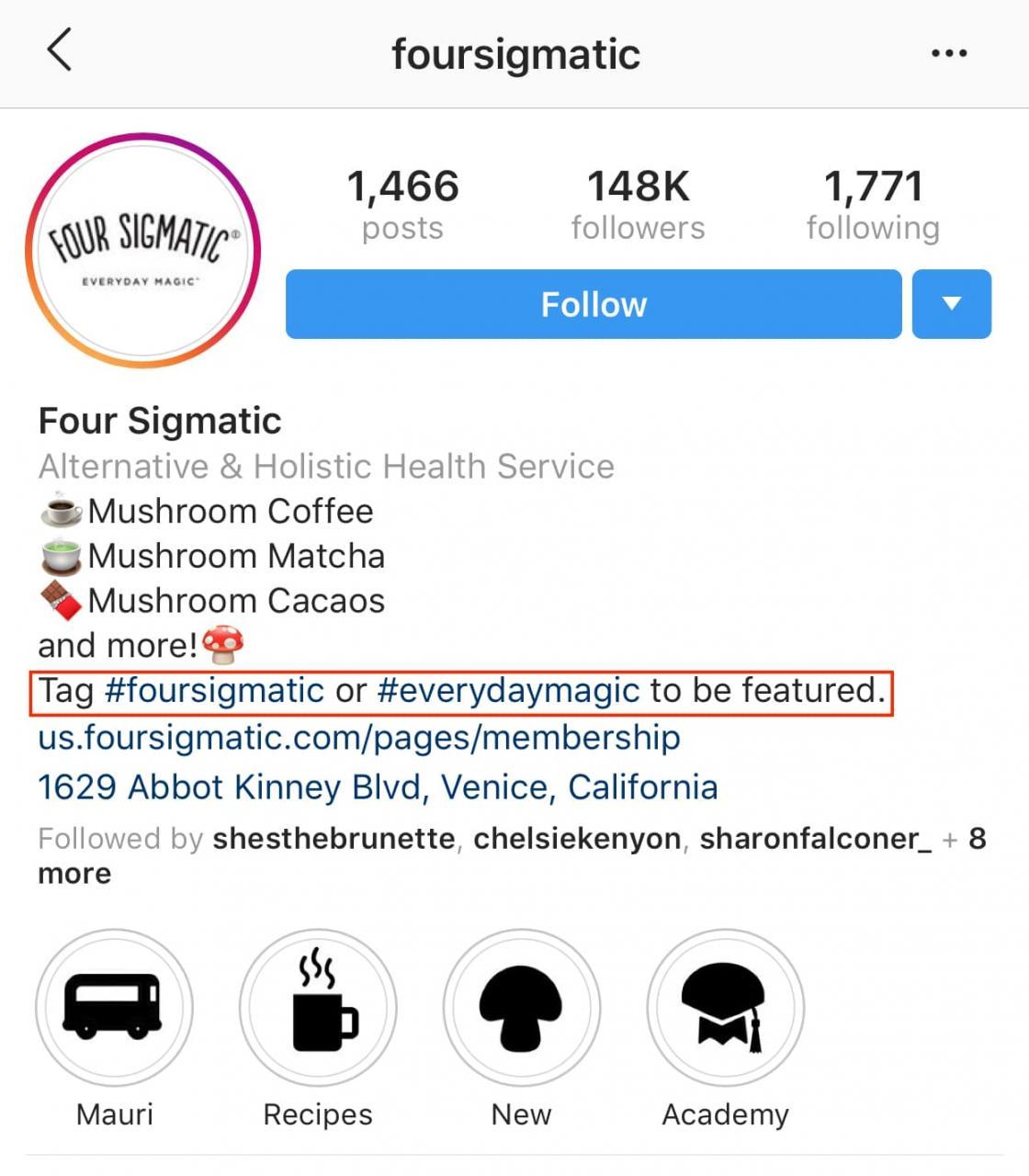 hashtag de marca no instagram