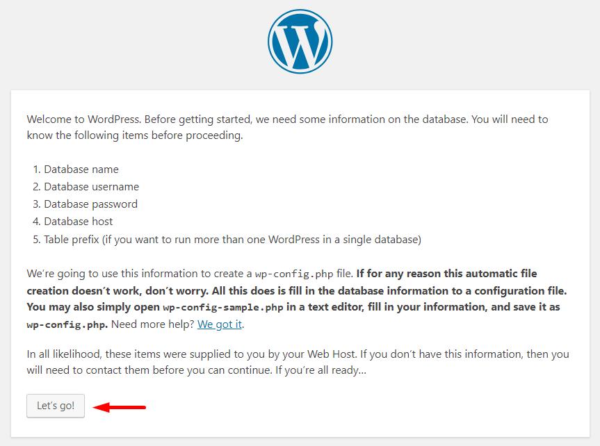 Banco de dados WordPress