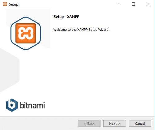 configurar o xampp