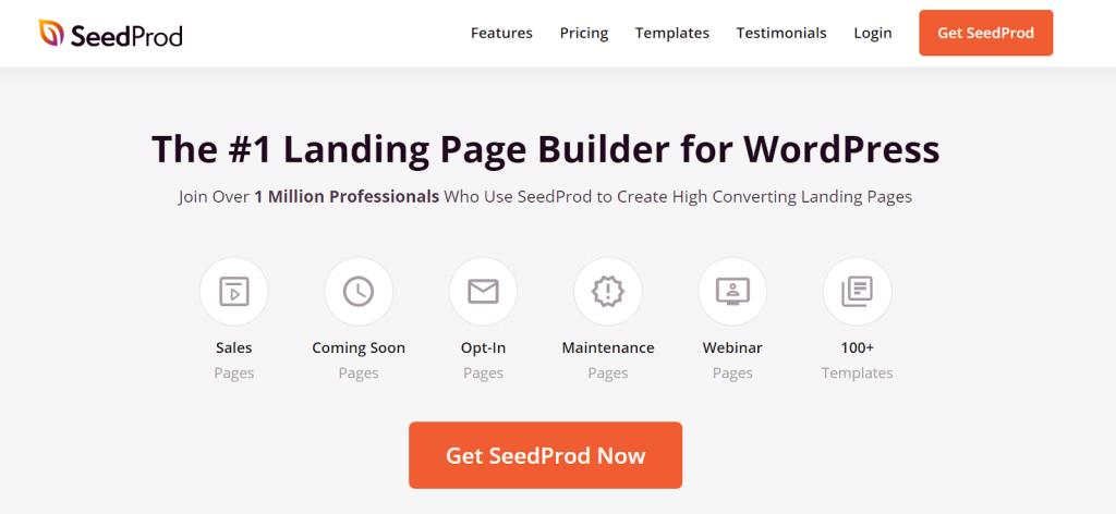 SeedProd WordPress Page Builder
