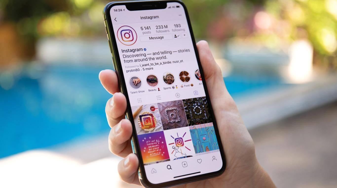 Como organizar os destaques do instagram